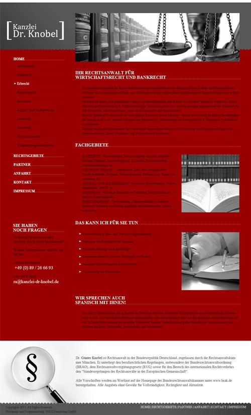webdesign anwalt