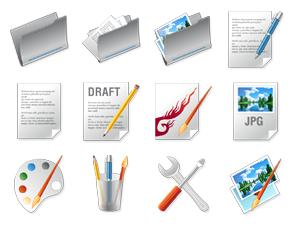 Icon-Design zum Thema Designer Tools