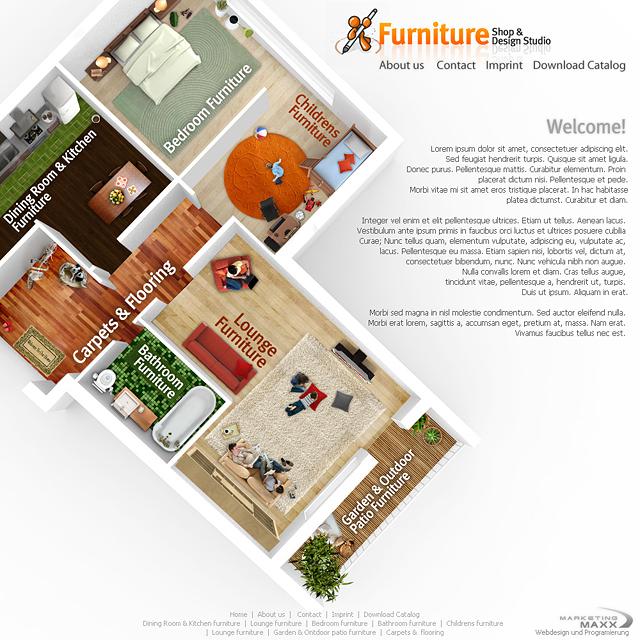 Webdesign Startseite