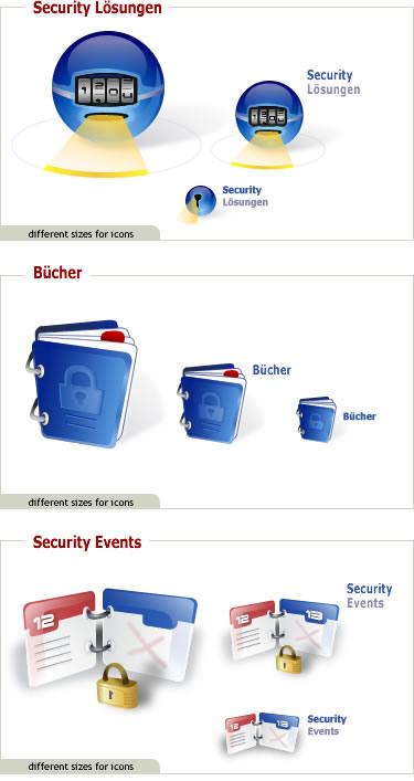 Dieses Design wurde ebenfalls für das IT-Security Portal erstellt.